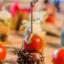 Тунец в кунжуте с помидором черри