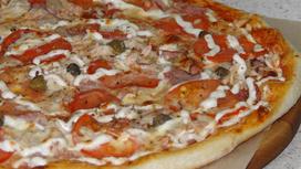 Пицца Портабелла с курицей