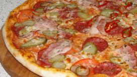 Пицца Сицилийская острая