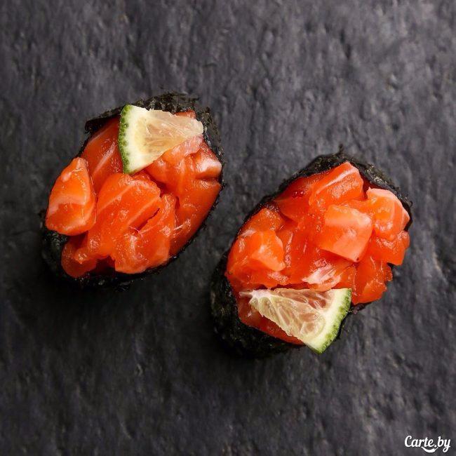 Суши гунканы фото