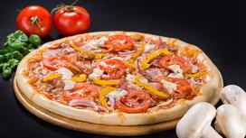 Пицца De Luxe на тонком тесте