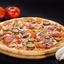 Пицца Деревенская на тонком тесте