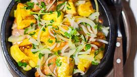 Горячее блюдо Оджахури