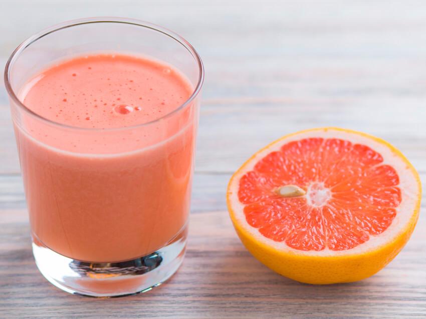 Напиток из грейпфрута для похудения отзывы