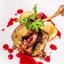 Утиная ножка Конфи Grill с ароматной грушей и винным соусом