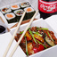 Комбо с рисом тяхан и овощами
