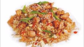 Рис с курицей в соусе Терияки