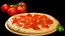Пицца Пеперони на тонком тесте