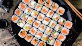 Суши-сет Сяке