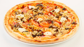 Пицца Сочная (на тонком тесте)