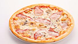 Пицца Нежная (на тонком тесте)
