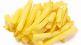 Маленькая порция картофеля фри при покупке любого бургера XL или биг-бургера