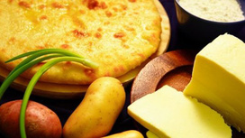 Пирог с картофелем и сыром