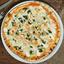 Пицца Сливочная со шпинатом