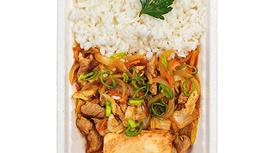 Кимчи со свининой и сыром Тофу