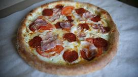Пицца Мясо в мазике