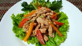 Тёплый салат Сытый пан
