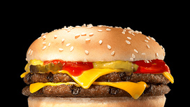 Бургер Двойной чизбургер