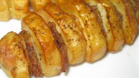 Картофель-гриль с беконом