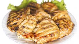 Бедро цыплёнка на мангале