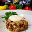 Салат с томлёной говядиной и грибами