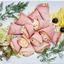 Рулетики из ветчины с сыром и чесноком