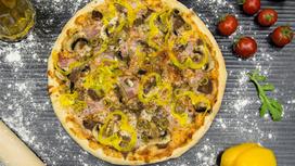 Пицца Фирменная на тонком тесте