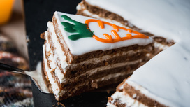 Десерт Морковный тортик