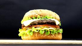 Бургер KVISburger макс Leshi