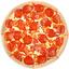 Пицца Пеперони и помидоры хот-дог борт