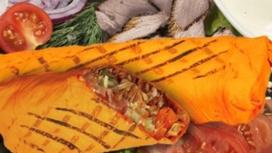 Шаурма Классическая говядина с сырным лавашом