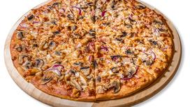 Пицца Барбекю Drive на тонком тесте