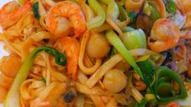 WOK с морепродуктами