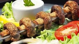 Шампиньоны-гриль (весовое блюдо)