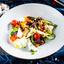 Печёные овощи с сыром Брынза