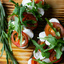 Брускетта с помидорами и сыром Моцарелла