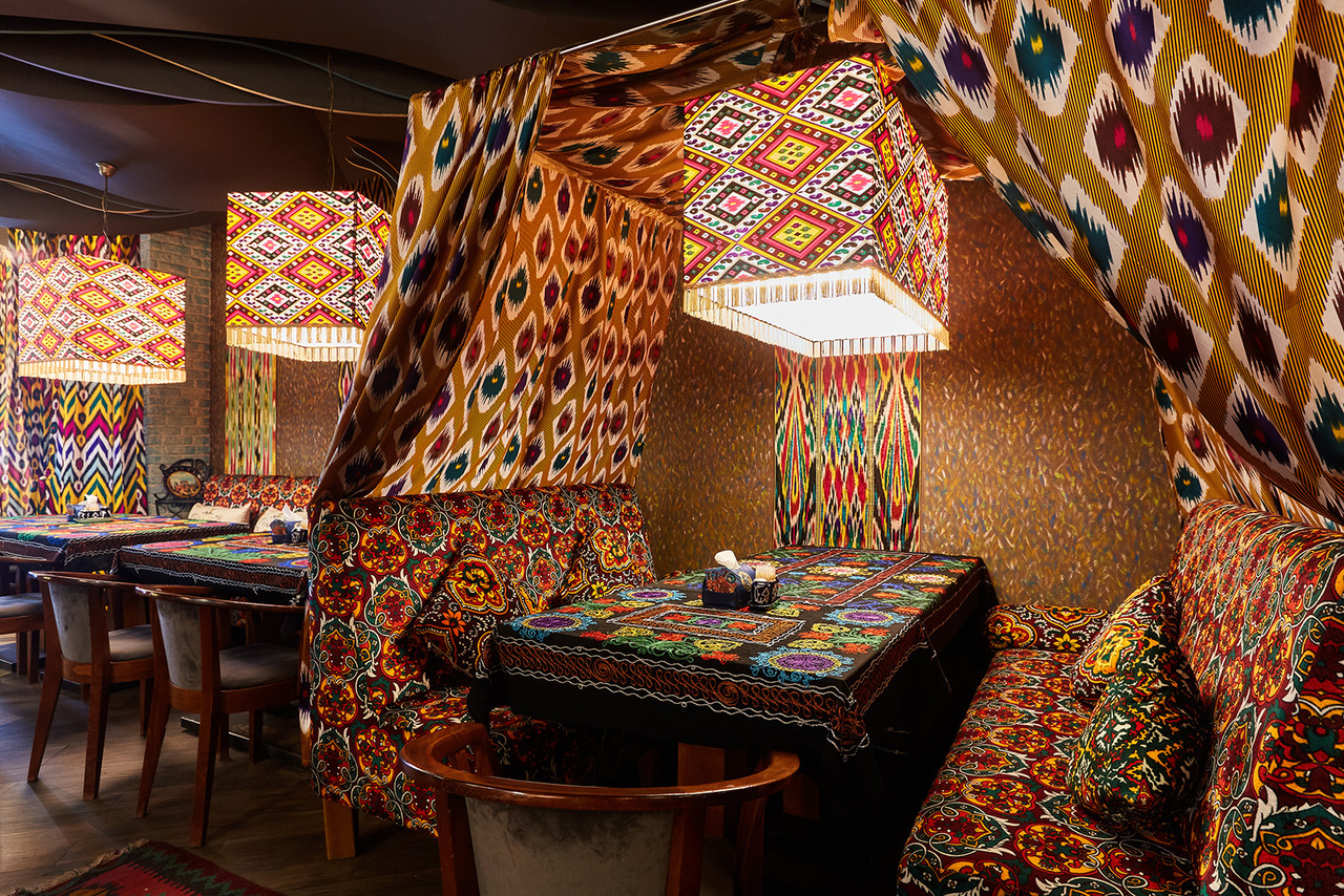 узбекский дизайн кафе фото называют
