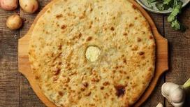 Пирог веганский с картофелем и сыром Тофу