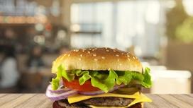 Чизбургер двойной