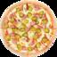 Пицца Фермерская хот-дог борт