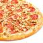 Пицца Ветчина и грибы тонкое тесто