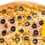 Пицца Цыпленок, ветчина и маслины