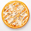 Пицца Цыплёнок с грибами и грибным соусом