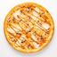Пицца Цыплёнок с грибами и соусом Карри на пышном тесте