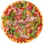 Пицца с прошутто и руколой