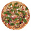 Пицца с запечёнными баклажанами