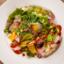 Салат с пастрами из утиного филе
