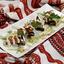 Баклажаны, фаршированные сырным салатом с грецким орехом