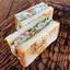 Клаб-сэндвич с сёмгой